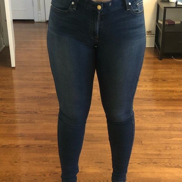 Blue 7 for all mankind skinny jeans